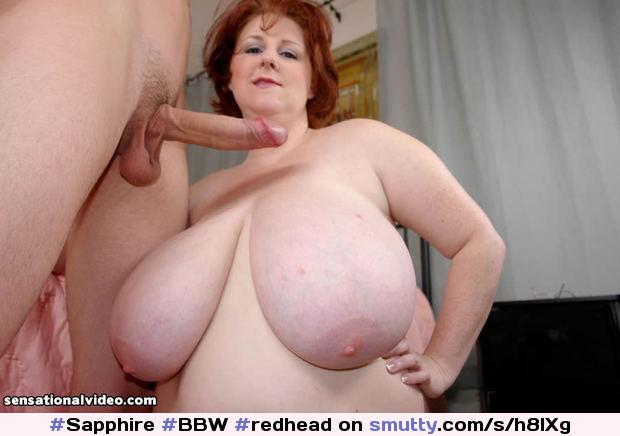 Redhead bbw vs junior