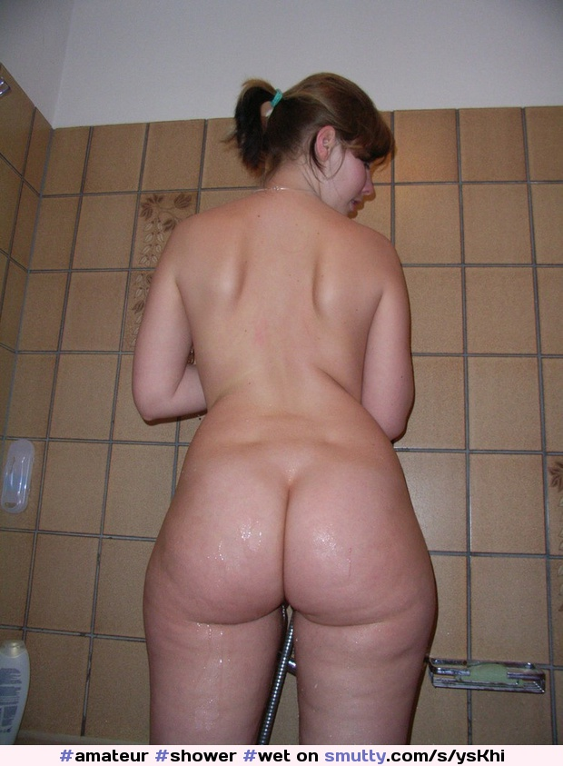 Happens... Chubby shower anal