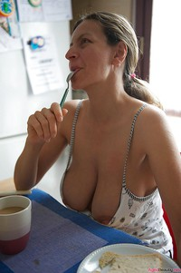 Milf nipple slips