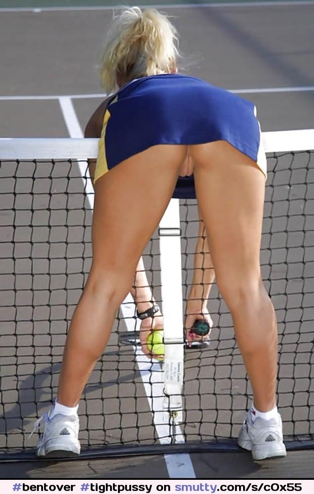 Sexy girl in sports bra voyeur