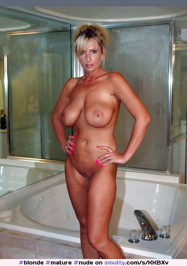 Amateur blonde takes a huge load on her chest 9