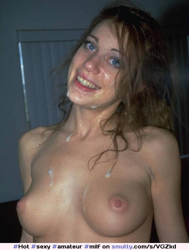 Sexy hot milf facial
