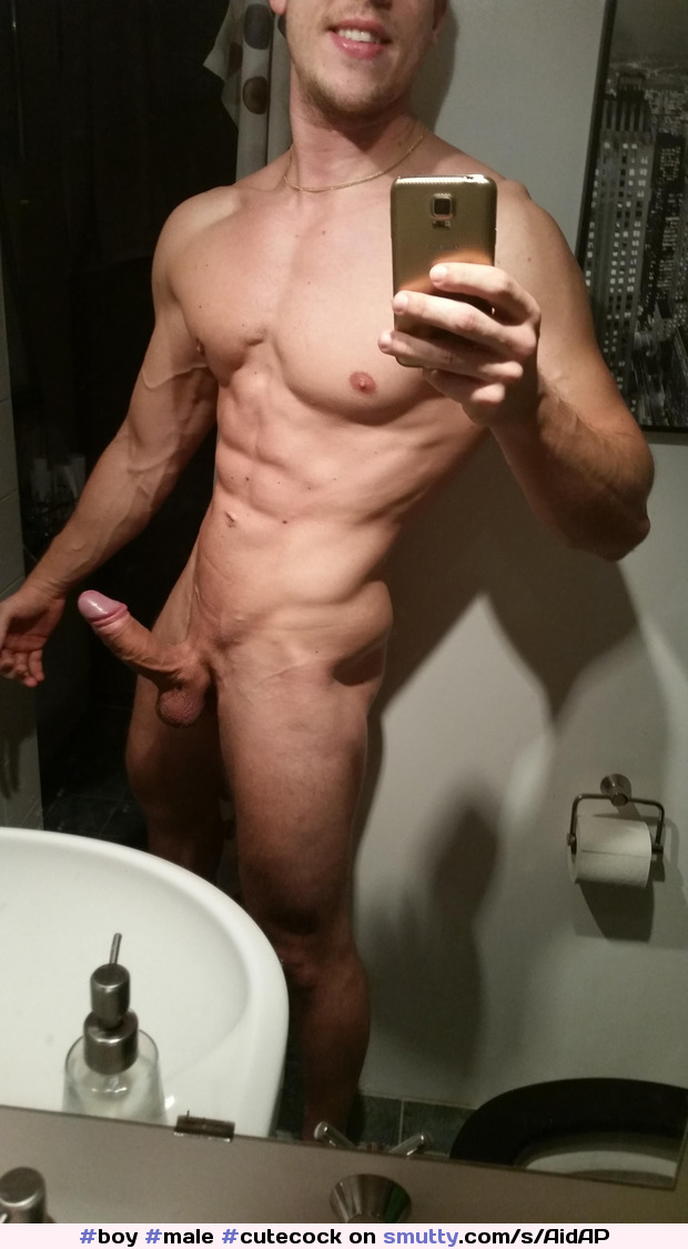 #boy #male #cutecock #nicebody #smuscle #atletic #shaved #shavedcock #guy #greatbody #selfie