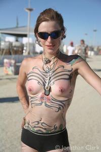 Warm Naked Burning Man Pics Pic