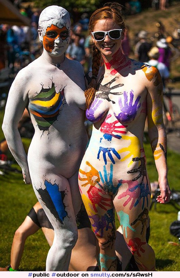 Malays way out nude bodypainting portman fully