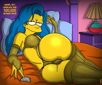 Pity, that Marge simpson stockings