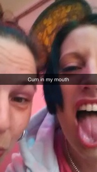 Snapchat Cum In Mouth