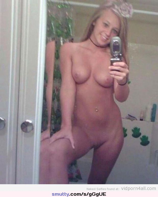 Blonde Teen Tits Selfie Pics