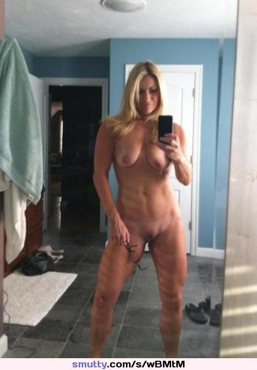 Nude milf b cup brunette