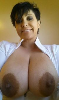 Cougar shot milf self