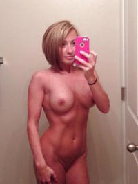 Naked fit sexy mom
