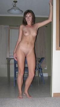 Amateur nude barefoot