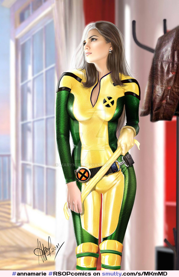 #annamarie #RSOPcomics #Rsop2016 #maryneim #deviantart #Rogue 2012 #sexy #Xmen #marvel #fanart #DigitalArt #Photomanipulation #People !!!