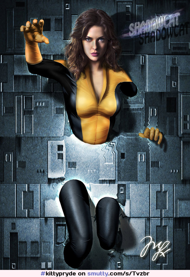 #kittypryde #RSOPcomics #RSOp2016 #deviantart #shadowcat from #xmen by #mlauneim #fanart #DigitalArt #3Dimensional #Art #Characters #marvel