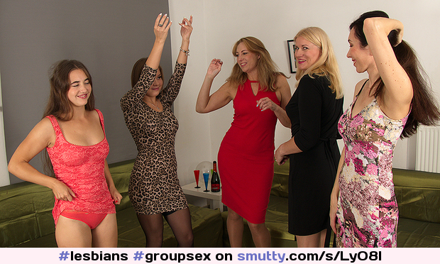 Five horny women have a sexparty and we're all invited to watch#lesbians#groupsex#party#maturemilf#maturemilf#milf#babe#OldAndYoung#oldyoung