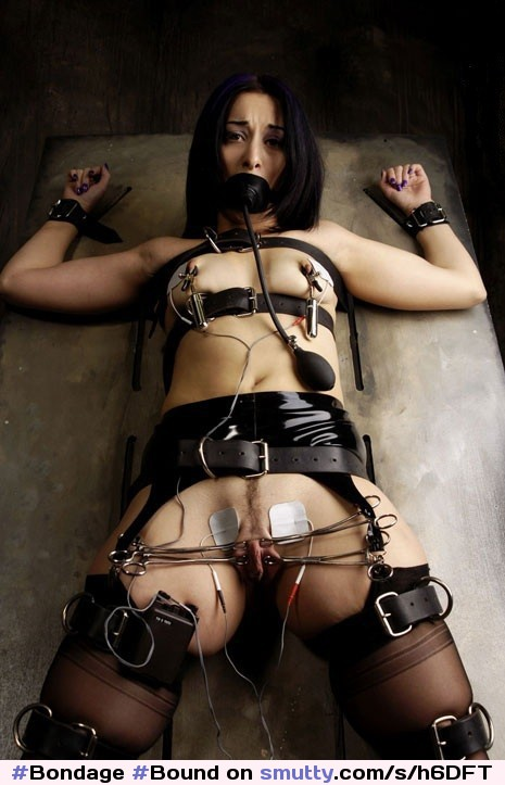 Farm girl bondage