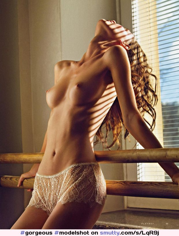 #gorgeous #modelshot #neck #slim #slender #topless #sheer #panties #flatstomach #hipbones #blinds #erotic #waist #fit #hardbody #photography