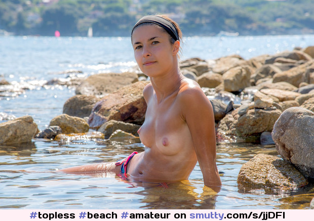 #topless #beach #amateur