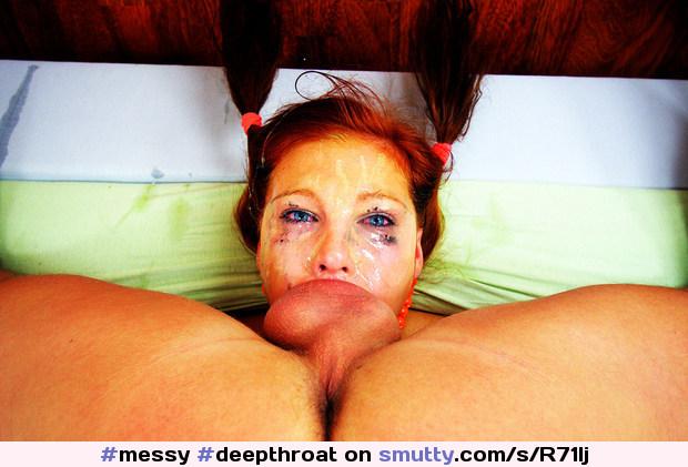 Bodybuilderin Muschisaft Schwarz Deepthroat
