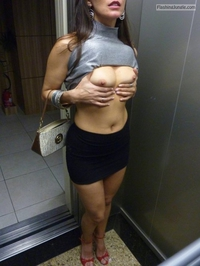 Elevator nude amateur pics topic about