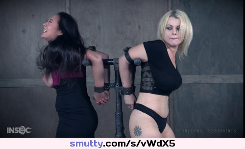 Nadia White Nyssa Nevers Carousel of Pain - Extreme, Bondage, Caning #all_bdsm