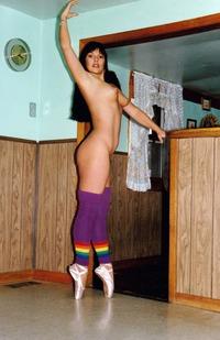 A hummping naked girl