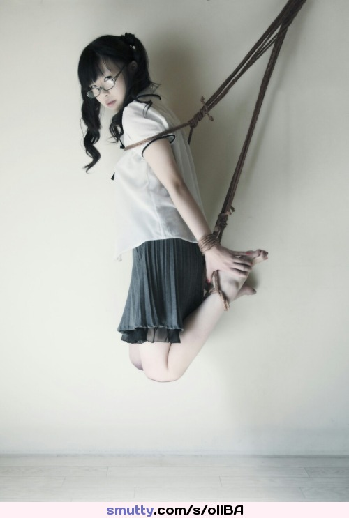 asian-schoolgirl-tied