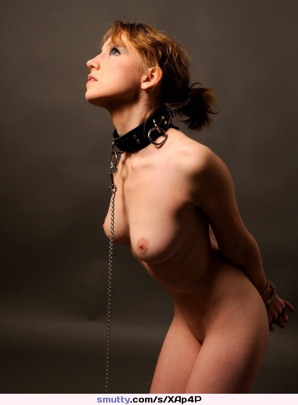 Apologise, beautiful nude submissive women in collars