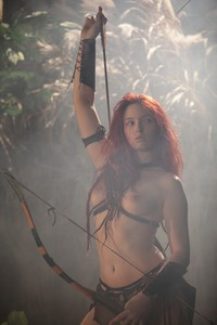 Not pleasant female archer warriors pussy life. There's