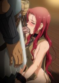 Collared Hentai Slave