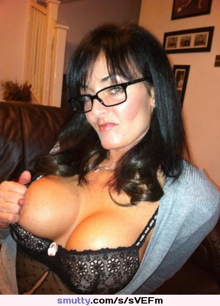 Mature mom big tits glasses seems, will