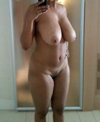 Nude boudoir milf selfie