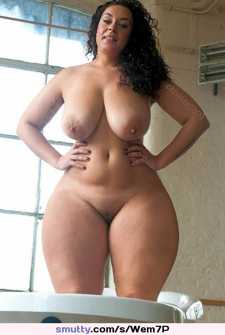 Have thought Naked super wide hips