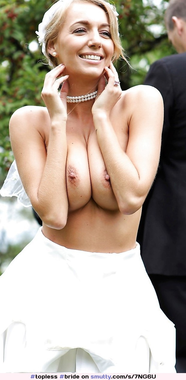 #topless #bride #beautiful #erotic