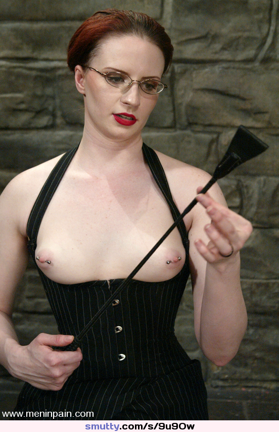 #redhead #redlips #babe #milf #titsout #corset #ClaireAdams #nipples #pierced #cane #mistress #femdom #pale #sexy #strict