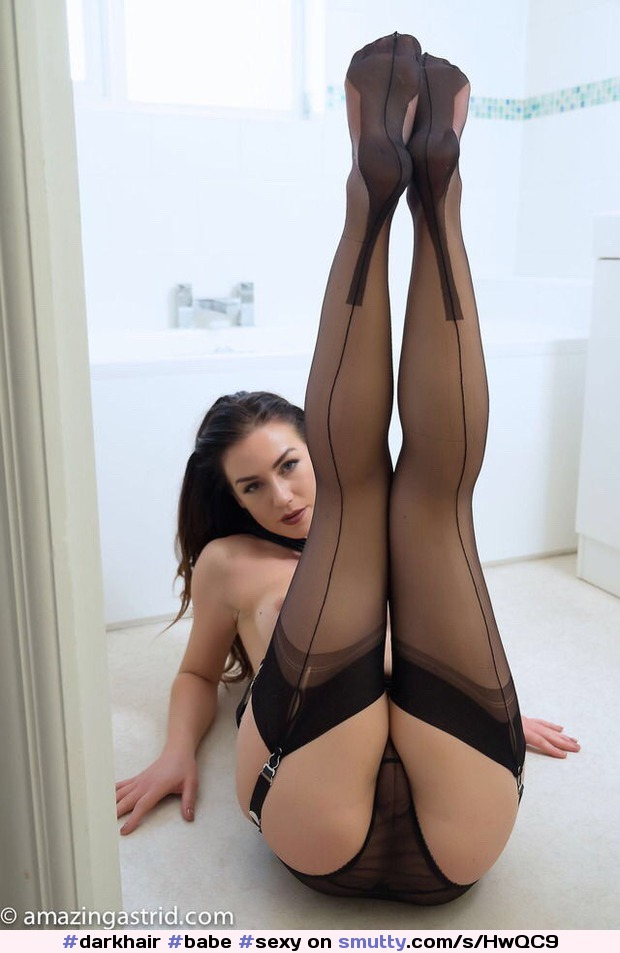 #darkhair #babe #sexy #erotic #seductive #nn #stockings #nylons #panties #topless #legs #feet #thighs #ass #pussy #pov #readytofuck