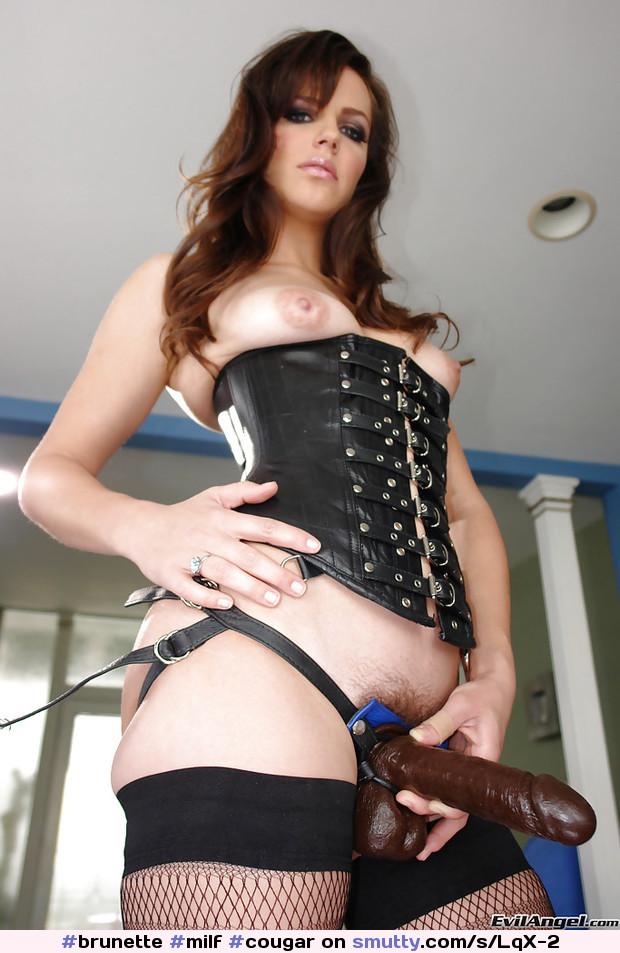 Clubdom presents mistress with a strapon pov