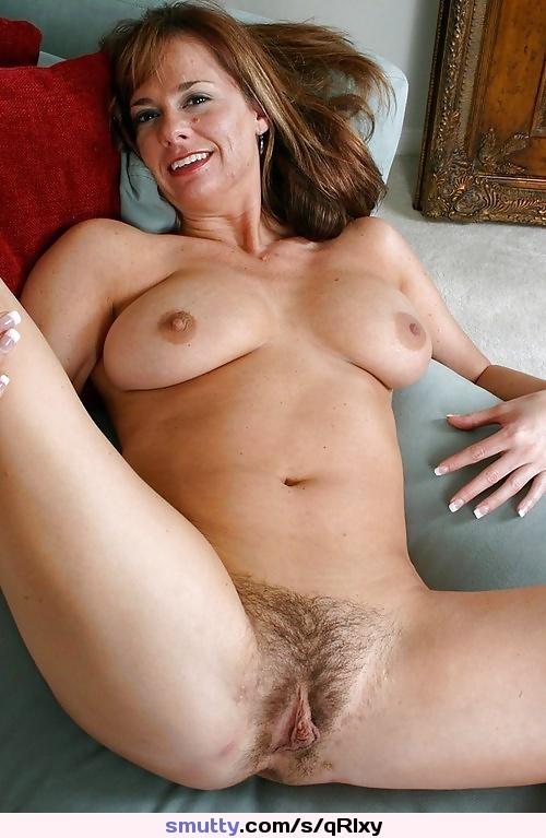Busty Brunette Milf Seduces