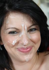 Mature amature facial