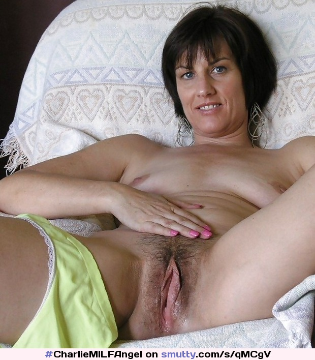 Hot Short Hair Brunette Milf