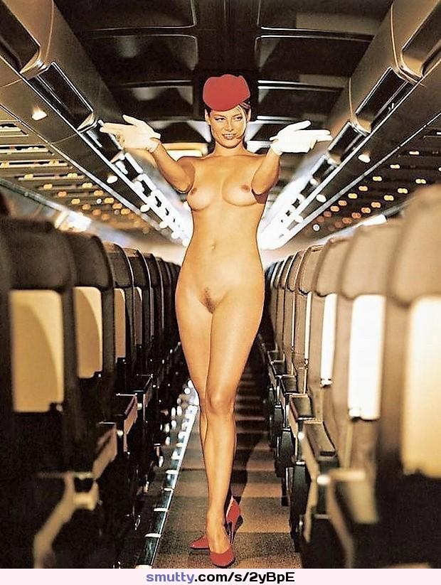 Real flight attendants nude
