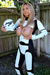 Stormtrooper boob nude