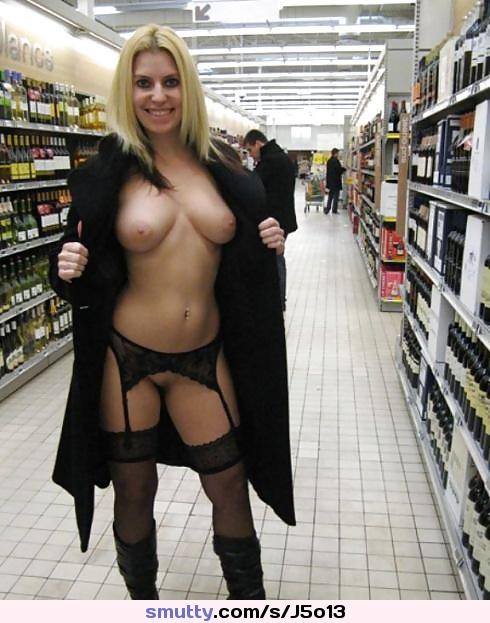 Mature stockings public