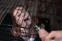 Cage a slut