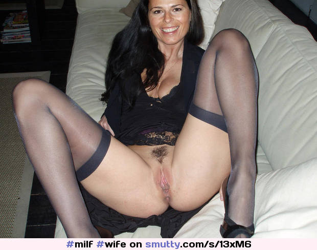 #milf #wife #NeighborAffair #datenight #thighhighs #smileonherface #legsspread #pantiesoff #onthecouch #ShesReady #gorgeous #NeighborAffair
