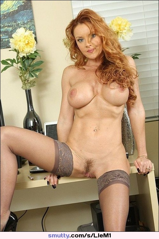 Awesome Redhead Milf With Huge Boobs Boobs Redhead Nude -7562
