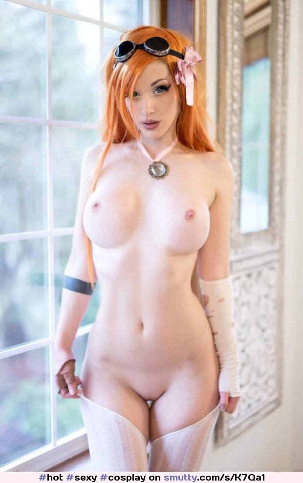 #hot #sexy #cosplay #redhead #nicetits #shavedpussy
