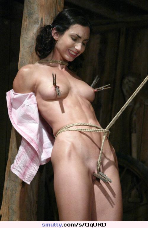 Asian clothespin bondage