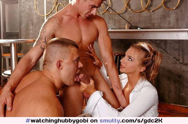 Gay Threesome With Kinky Gays
