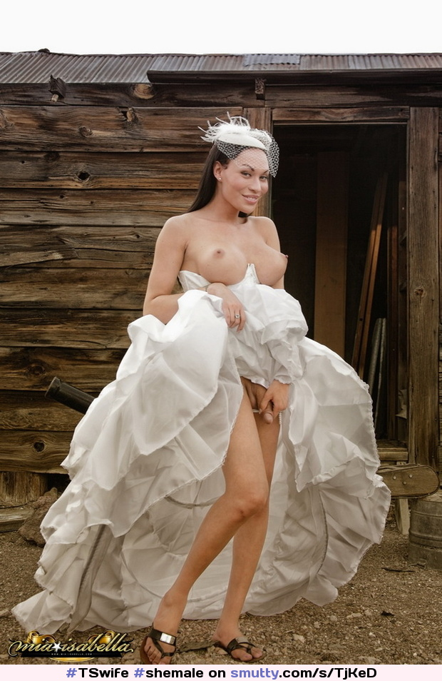 shemales in wedding dress